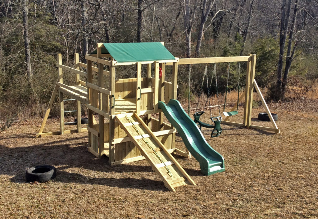 4x6 As shown $1875.00with standard 8 foot height,ramp with rope,bridge
