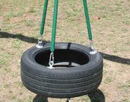 Plastisol Chain Tire Swing<br>$300