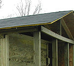 NO LONGER AVAILABLE  Shingled Roof<br>4x6 for $275<br>6x6 for $450