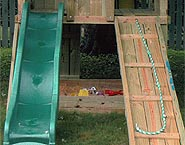 Wooden Ramp with Rope<br>$100each