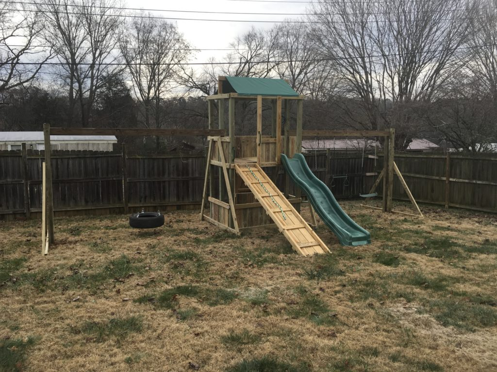 4x6 as shown $2050.00 with hops up,ramp, tire swing