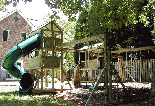 4x6 Eagle's Nest and 4x6 Jungle House models as shown $4400 including Monkey Bars
