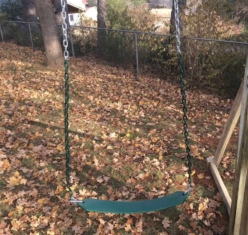 Plastisol Chain Belt Swing<br>$75 each